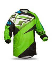 camisa-fly-f16-off-road-verde-preta