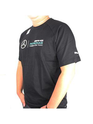 1e8932b91d354 Camiseta STYFR-MAMGP LOGO TEE Puma Black