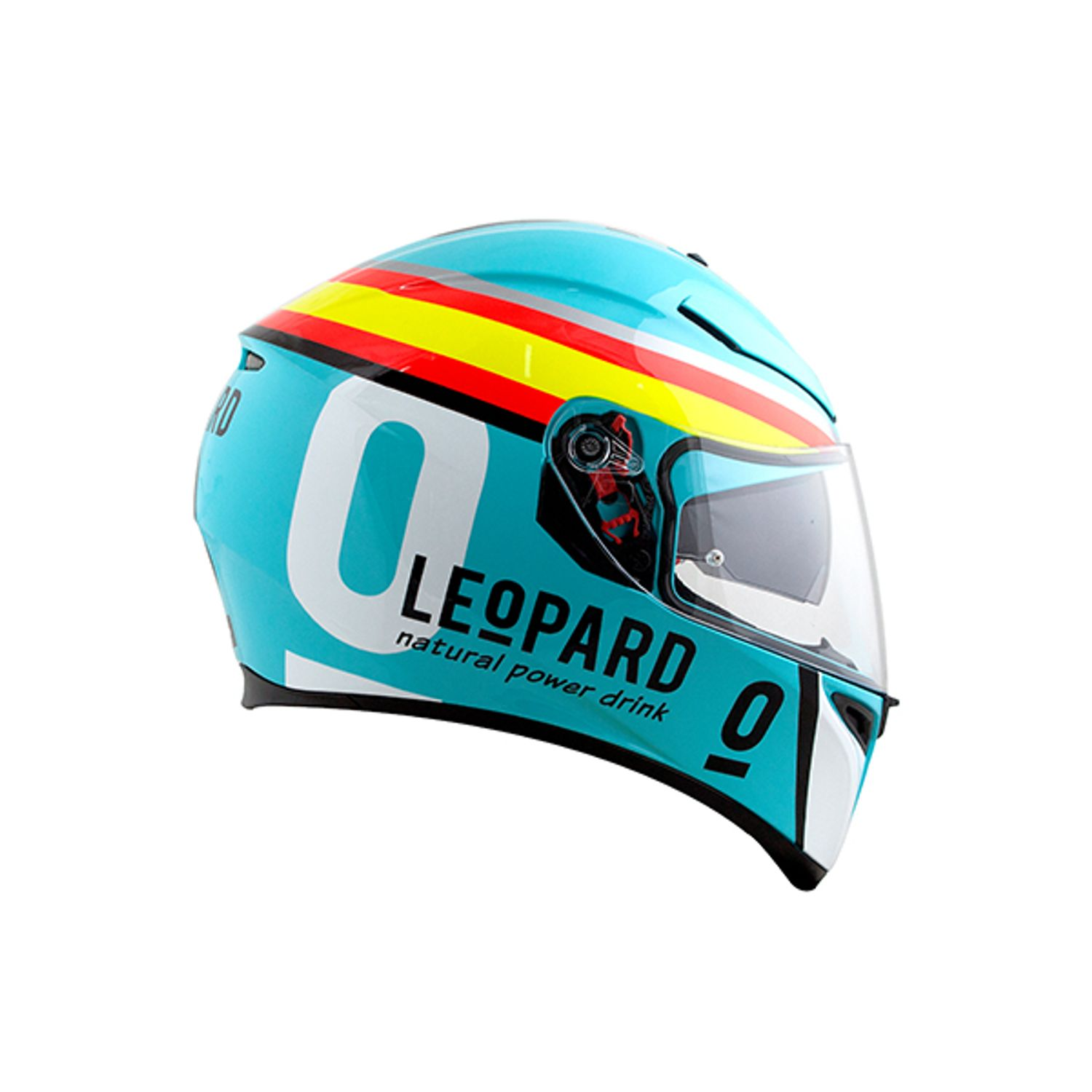 Capacete AGV K-3 SV Pinlock Maxvision Rossi 5 Continents