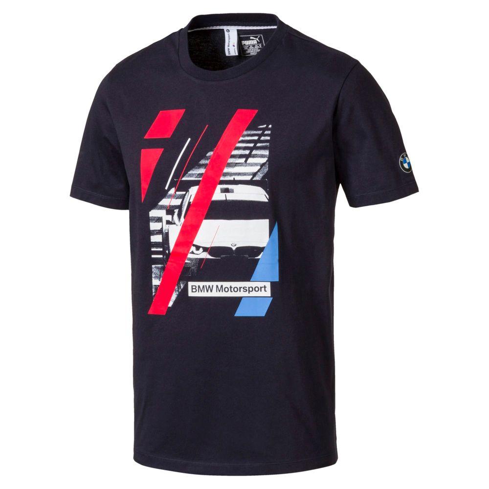 Camiseta-BMW-Graphic-Azul---Frente