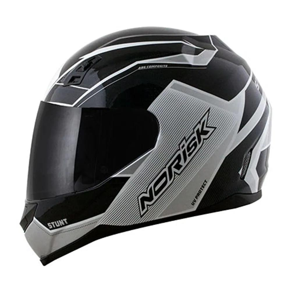 capacete-norisk-ff391-storm-blackwhite-e-blackgreenred