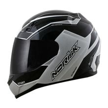 capacete-norisk-ff391-storm-blackwhite-e-blackgreenred