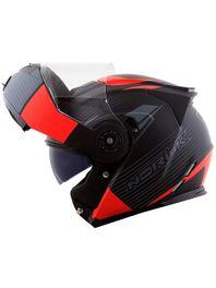 capacete-norisk-ff345-route-stroke-articulado-preto-e-vermelho-fosco-c-viseira-solar