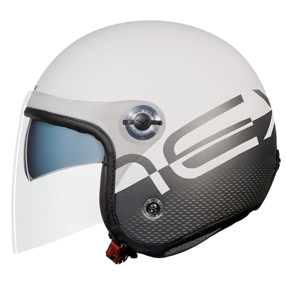 capacete-nexx-x70-city-x-branco-fosco-aberto
