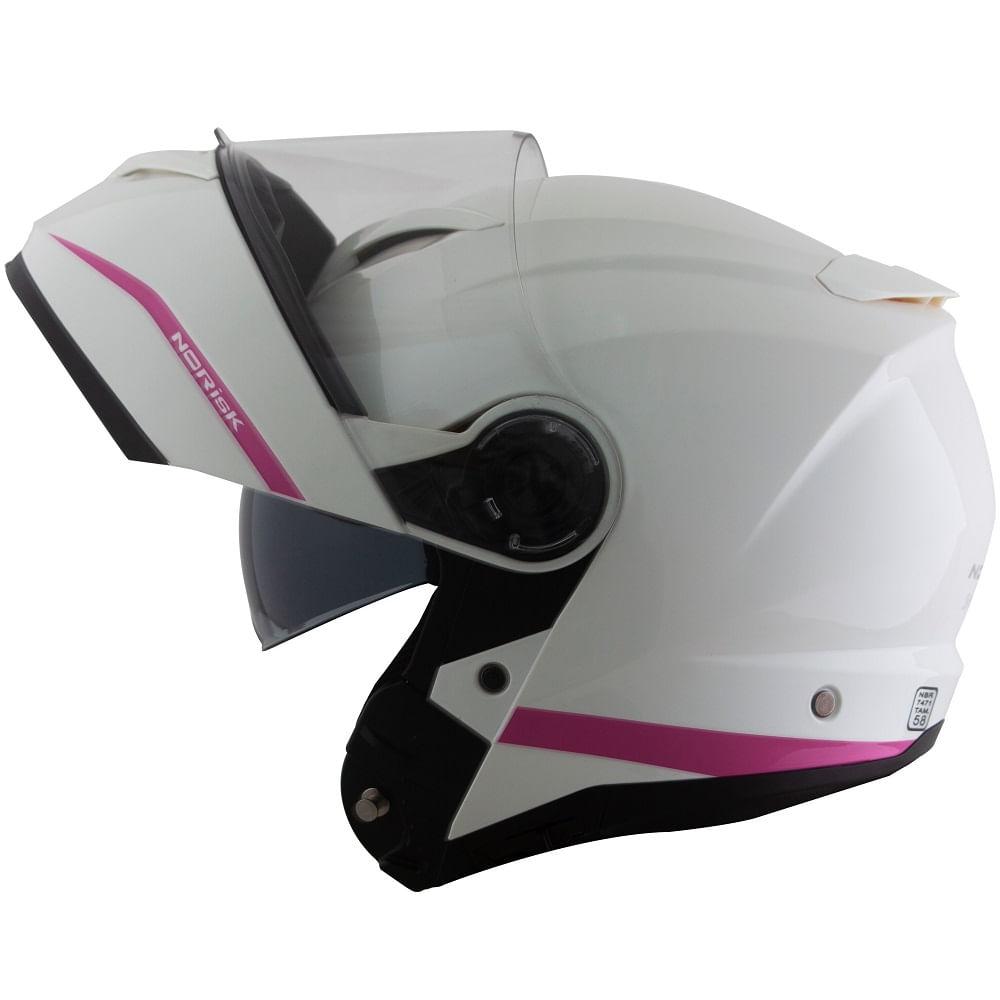 capacete-norisk-force-simplicity-branco-rosa-escamoteavel