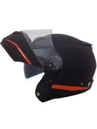capacete-norisk-force-simplicity-preto-laranja-fosco-escamoteavel