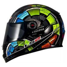 Capacete-LS2-FF358-Tech-Preto