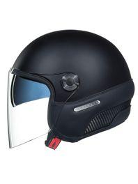 capacete-aberto-nexx-X-70-insignia-preto-fosco