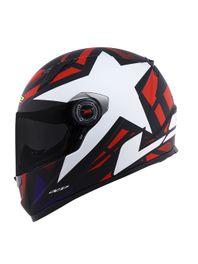 Capacete-LS2-FF358-Starwar-Branco-e-Vermelho