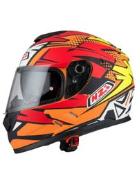 Capacete-Moto-NZI-Symbio2-Duo-Flash-Laranja-Amarelo