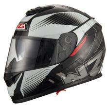 Capacete-Moto-NZI-Symbio2-Duo-Indy-Preto-Branco-1