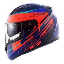 Capacete-LS2-FF320-Stream-Ixel-Azul-Laranja