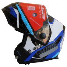 Capacete-LS2-FF324-Metro-Complex-Preto-Branco-Azul-Fosco