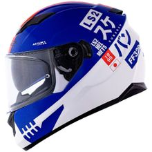 Capacete-LS2-FF320-Stream-Sukeban-Branco-Azul-Vermelho