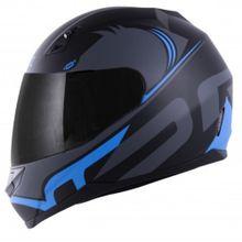 Capacete-Norisk-FF391-Squalo-Preto-Azul-Fosco