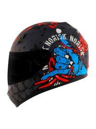 Capacete-Norisk-FF391-Zombie-Titanio-Azul-Vermelho