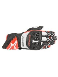 Luva-Moto-Alpinestars-GP-Pro-R3-Preto-Branco-Vermelho