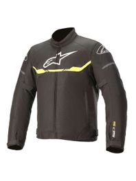 Jaqueta-Moto-Alpinestars-Impermeavel-T-SP-S-WP-Preto-Amarelo-Fluo