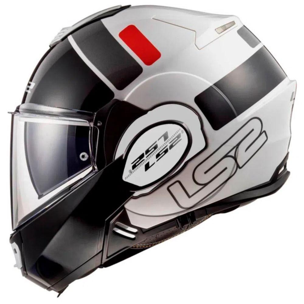 Capacete-Articulado-LS2-FF399-Valiant-Prox-Branco-Vermelho-Preto
