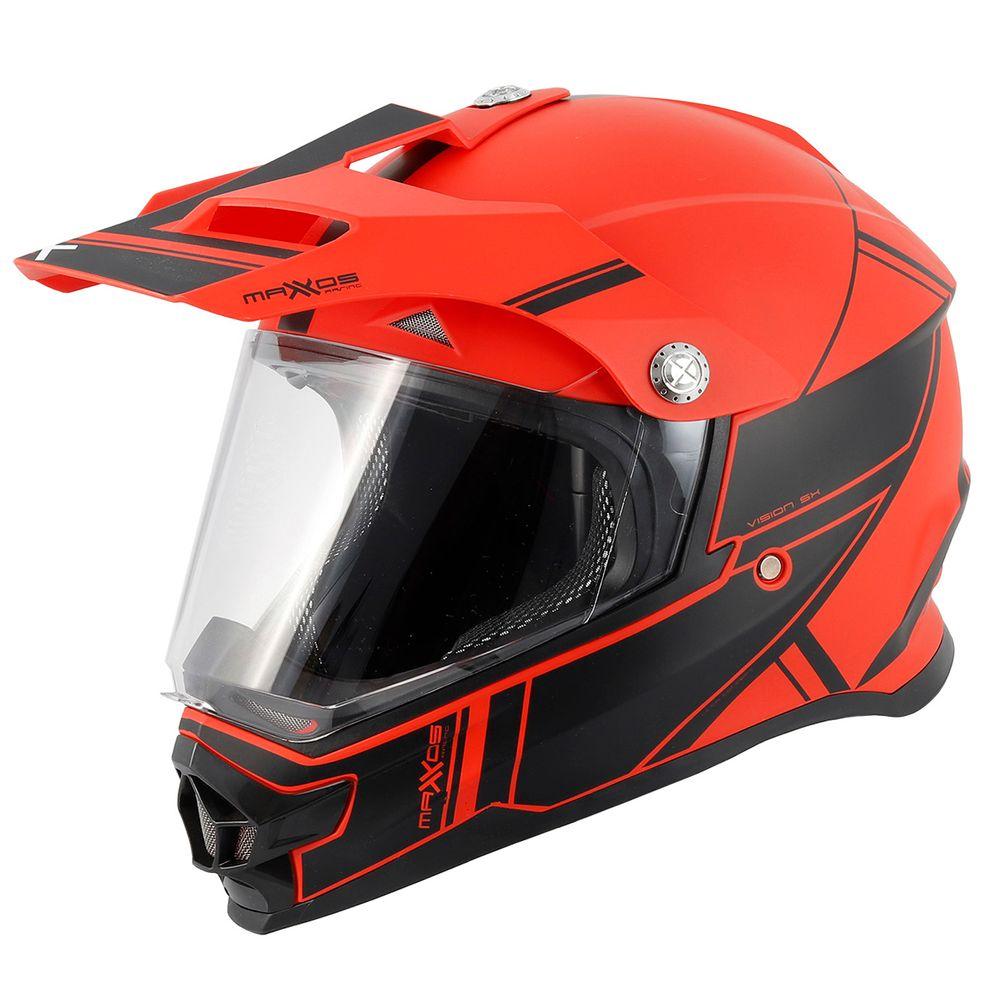 capacete-cross-mattos-racing-new-TTR-2-vermelho-fosco