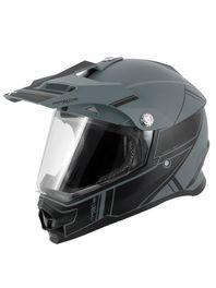 Capacete-motocross-Mattos-Racing-TTR-2-Preto-e-Cinza