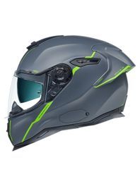 Capacete-Nexx-SX100R-Shortcut-Cinza-Neon-Fosco