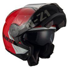 Capacete-Moto-Articulado-NZI-Combi2-Duo-Flydeck-Vermelho-Fluor
