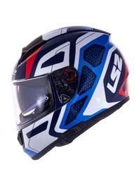 Capacete-LS2-FF397-Vector-Interceptor-Branco-Azul-Vermelho