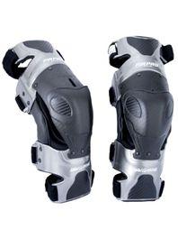 joelheira-motocross-articulada-mrpro-classic-cinza