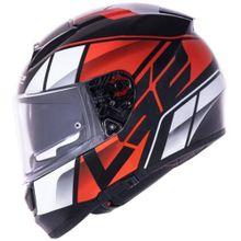 Capacete-LS2-Vector-Evo-FF397-Kripton-Preto-Vermelho-Branco