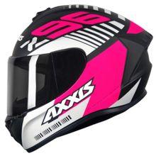 Capacete-Axxis-Draken-Z96-Fosco-Preto-Rosa-Branco-