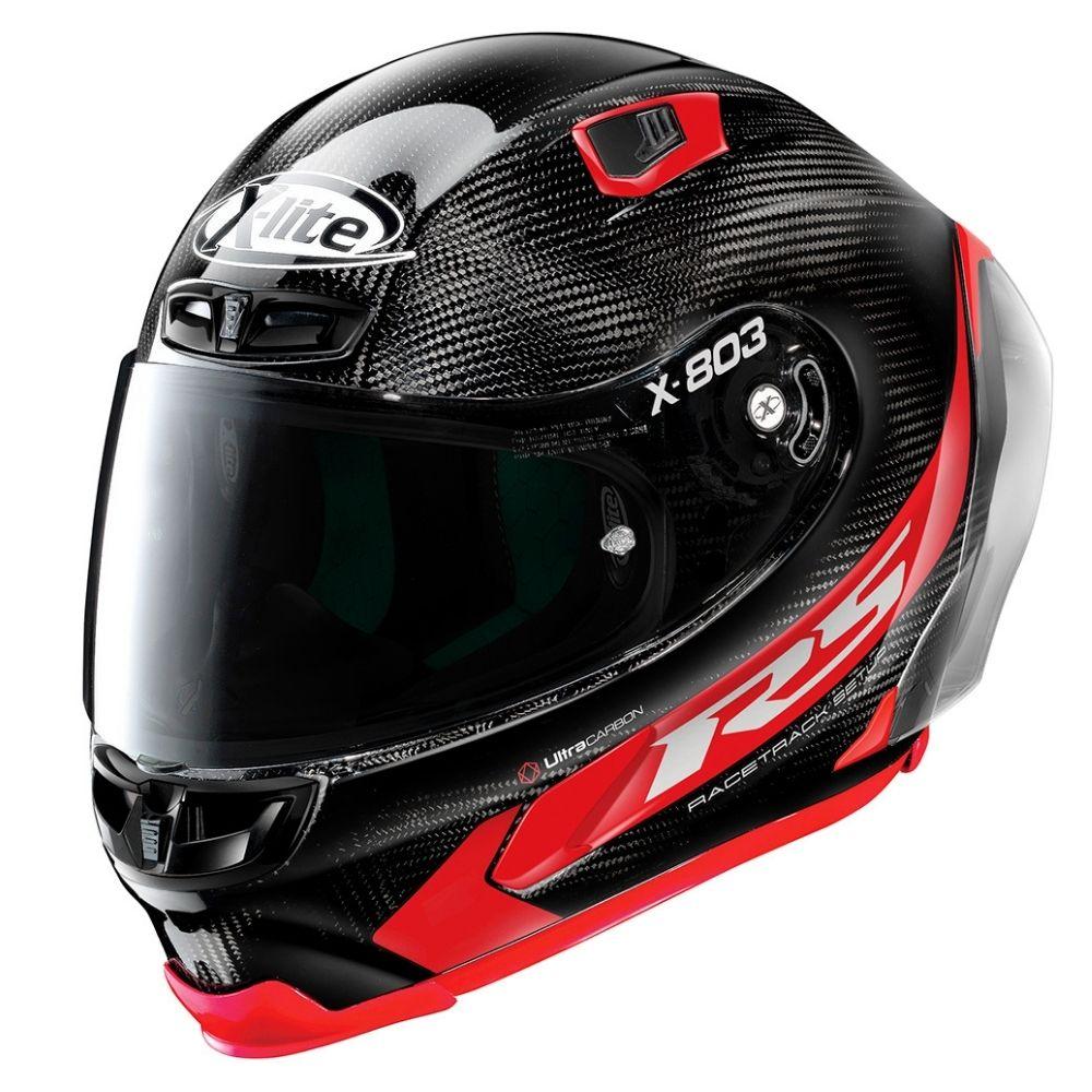 Capacete-X-Lite-X-803-RS-Hotlap-Carbon-Preto-Vermelho-