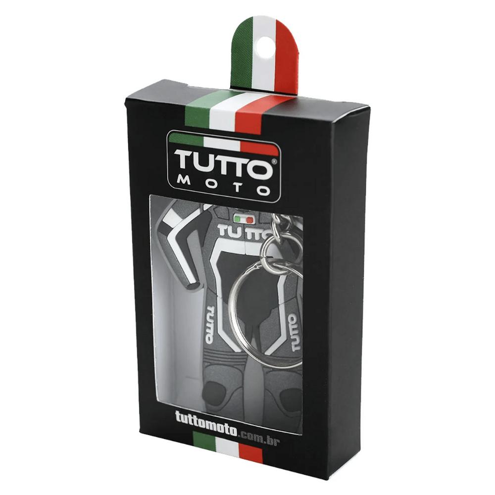 Chaveiro-Tutto-Moto-Macacao-Cinza-e-Branco