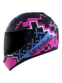 Norisk-FF391-Pixel-Preto-Azul-Rosa